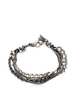 Emanuele Bicocchi   Multi Chain Sterling Bracelet
