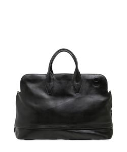 Officine Creative | Brushed Leather Duffle Bag