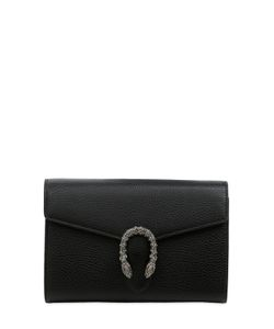 Gucci | Dionysus Swarovski Buckle Leather Bag