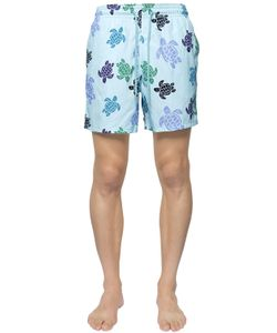 Vilebrequin | Moorea Sea Turtles Print Swim Shorts