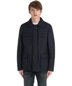 Peuterey   Soglio Tl Wool Blend Twill Field Jacket