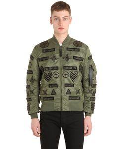 Marcelo Burlon County Of Milan | Roldan Alpha Ma1 Nylon Bomber Jacket