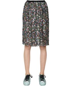 Odeeh | Sequined Lace Skirt