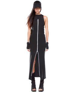 Demobaza   Time Line Zip-Up Cotton Vest Dress