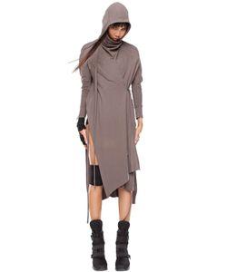 Demobaza   Astral Cotton Knit Wrap Cardigan