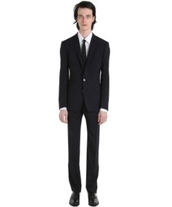 Dolce & Gabbana | Stretch Wool Toile Suit