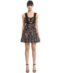 Self-Portrait | Jacquard Mini Dress