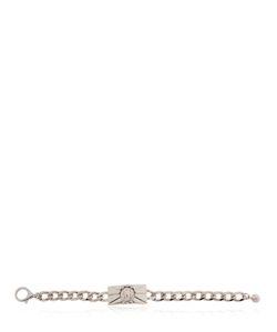 Versus   Lion Plaque Chain Bracelet