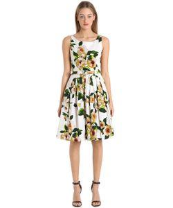 Samantha Sung | Printed Stretch Cotton Dress