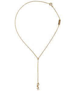 Saint Laurent | Monogram Plated Necklace