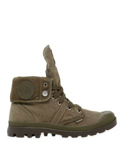 Palladium | Pallabrouse Baggy Washed Canvas Boots