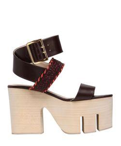 Elie Saab | 110mm Tokyo Leather Wrap Around Sandals