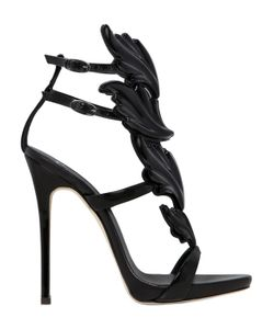Giuseppe Zanotti Design | 120mm Leaf Patent Leather Sandals