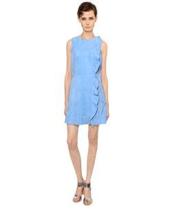 Yves Salomon | Ruffled Suede Dress