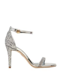 Chiara Ferragni | 90mm Glitter Leather Sandals