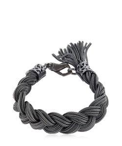 Emanuele Bicocchi   Medium Braided Sterling Bracelet