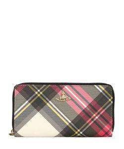 Vivienne Westwood | Derby Plaid Faux Leather Zip Wallet