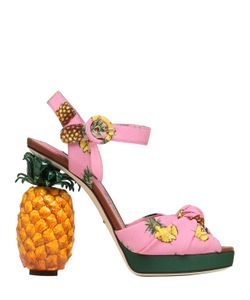 Dolce & Gabbana | 140mm Keira Pineapple Cady Sandals
