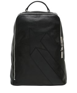 BIKKEMBERGS | Perforated Leather Backpack