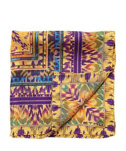 Etro | Batik Printed Silk Satin Pocket Square