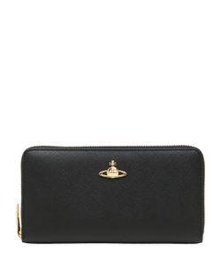 Vivienne Westwood | Saffiano Faux Leather Zip Wallet