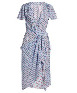 Altuzarra | Mesilla Ruffled Cherry-Print Dress