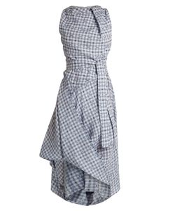 Vivienne Westwood Anglomania | Gingham Asymmetric Dress