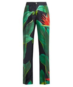 F.R.S - FOR RESTLESS SLEEPERS | Cronos Flower-Print Silk Pyjama Trousers