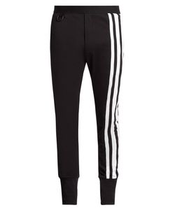 Y-3 | Striped Jersey Track Pants