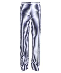 MSGM | Striped Cotton Trousers