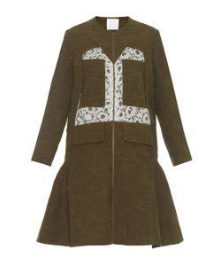 Danielle Romeril   Orta Camouflage-Effect Jacquard Coat