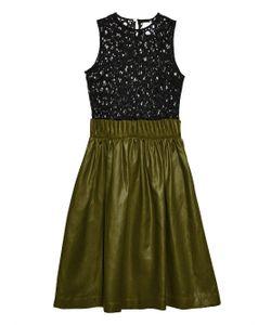 Danielle Romeril   Cartridge Ruffle Lace Dress