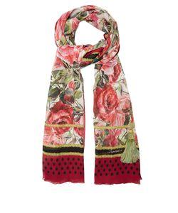 Dolce & Gabbana | Rose-Print Silk Scarf