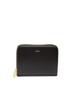 A.P.C. | Compact Zip-Around Leather Wallet