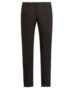 Tomas Maier   Slim-Fit Cotton Trousers