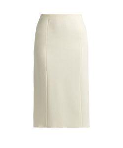 The Row | Herin Wool-Blend Midi Skirt
