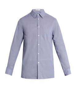 Adam Lippes | Spread-Collar Single-Cuff Cotton Shirt