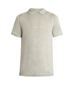 Wooyoungmi | No-Button Wool And Silk-Blend Polo Shirt