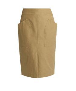 Isabel Marant | Stanton Patch-Pocket Cotton-Blend Skirt