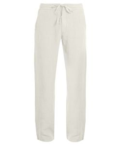 120 LINO   Drawstring-Waist Linen Trousers