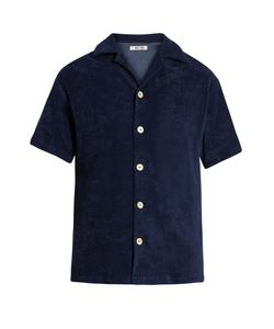 HECHO | Short-Sleeved French Terry-Towelling Shirt