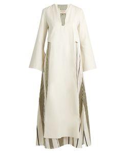 ZEUS + DIONE | Khloris Long-Sleeved Silk Maxi Dress