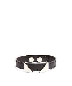 Fendi   Bag Bugs Leather Bracelet