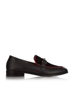 Newbark | Melanie Leather And Suede Loafers