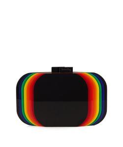 Sarah's Bag   Aura Rainbow Perspex Clutch