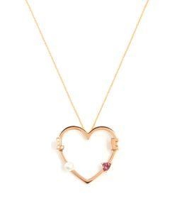 Delfina Delettrez | Diamond Rhodolite Pearl Necklace
