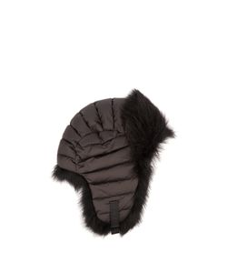Moncler Grenoble | Fur-Trimmed Down-Filled Hat