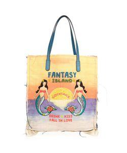 Sarah's Bag   Fantasy Island Embellished Tote
