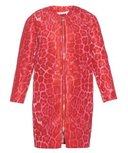 Moncler Gamme Rouge   Elegantine Leopard-Print Coat