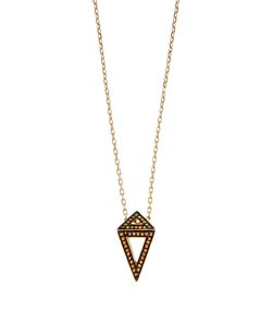 Noor Fares | Diamond Sapphire Ruby Yellow-Gold Necklace